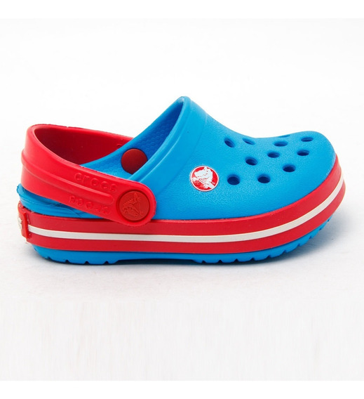 Zuecos Sandalias Crocband Kids Ocean Crocs Sport 78