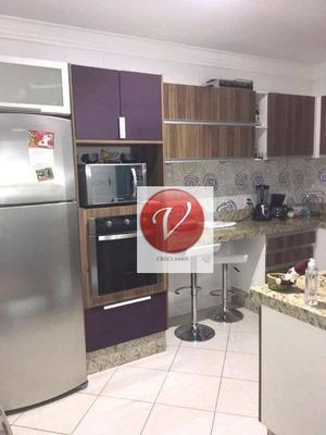 Apartamento Residencial À Venda, Vila Linda, Santo André. - Ap8498