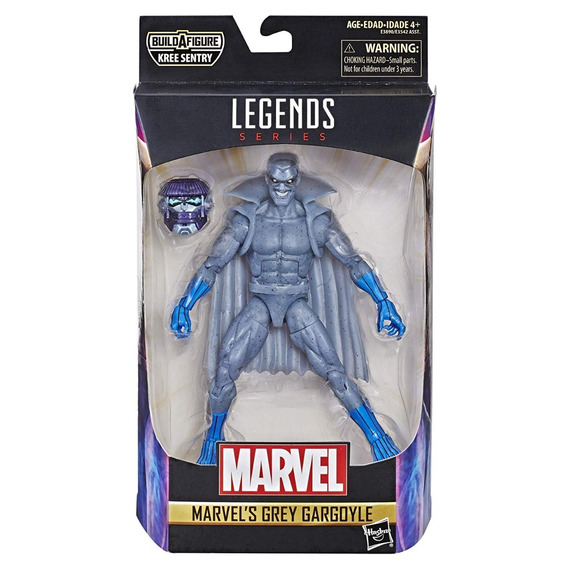 Marvel Legends Captain Marvel Grey Gargoyle Baf