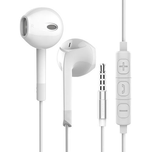 Imagen 1 de 6 de Audífonos Con Micrófono Langsdom E6u Auriculares Earpods