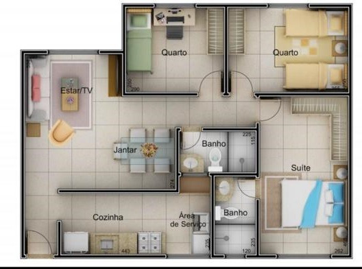 Apartamento Em Uberlândia Mg