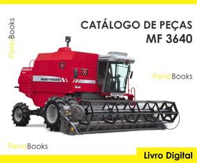 Catálogo Peças Colheitadeiras Massey Ferguson 3640