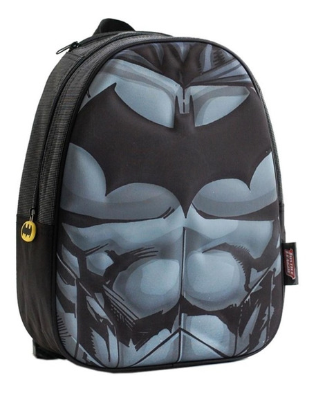 Mochila Escolar Batman Superman 3 D Super Heroes 16 Pulgadas