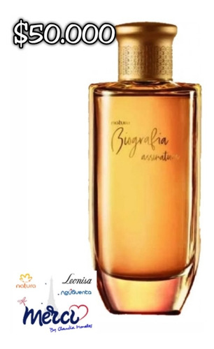 Perfume Biografia Assinatura Femenina D - mL a $600