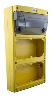 Cbox Tablero Mural Multifuncion Amarillo Ip44 Cambre