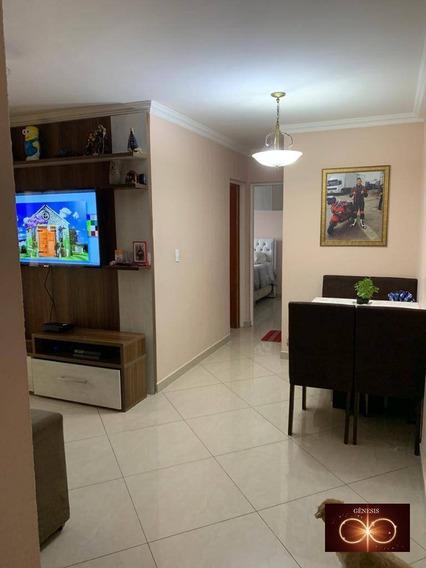 Apartamento Com 2 Dormitórios À Venda, 55 M² Por R$ 190.000,00 - Jardim Paris - São Paulo/sp - Ap0073