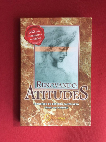 Livro - Renovando Atitudes - Francisco Do Espírito - Semi.