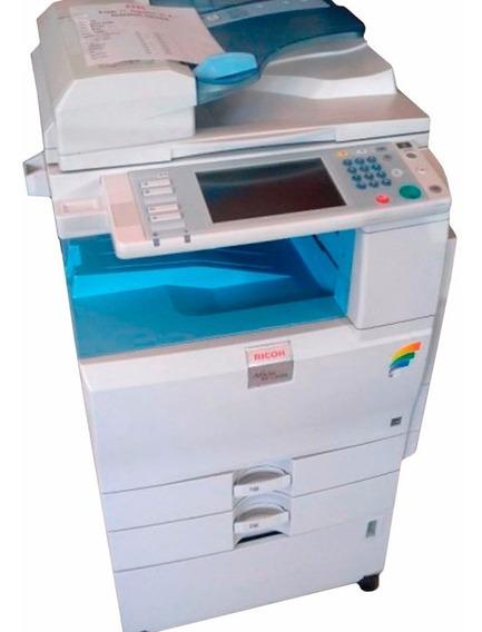 Multifuncional A3 Laser Color Ricoh Mpc2051 Toner Vazio