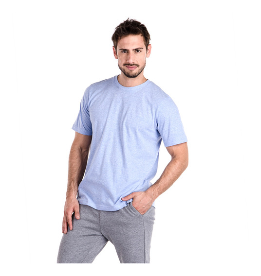 Remeras Hombre Topper T-shirt Mc Mns Basicos