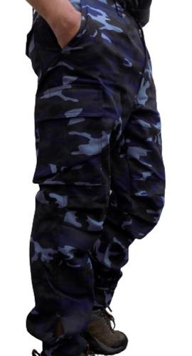 Pantalon Cargo Reforzados Vs Colores Talles Especiales 52a58
