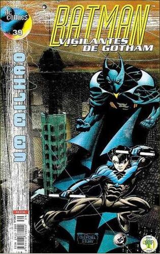Imagem 1 de 1 de Batman Vigilantes De Gotham 39 Asa Noturna