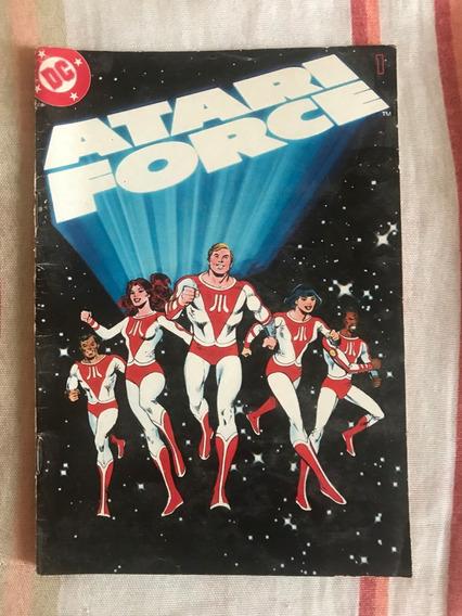 Gibi Hq Dc Atari Force N°1 - Ano De 1982 - Seminova