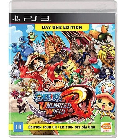 One Piece Unlimited World Red - Ps3 - Novo - Mídia Física