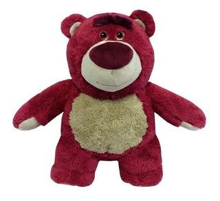 Pelúcia Urso Lotso 33 Cm Rosa Toy Story Original Disney