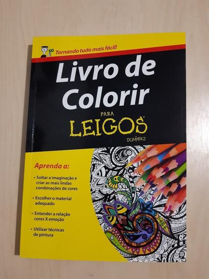 Livro De Colorir Para Leigos ( Desenhos Artísticos )