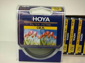 Filtro Polarizador Hoya 52mm Cpl Lente Canon Nikon Panasonic