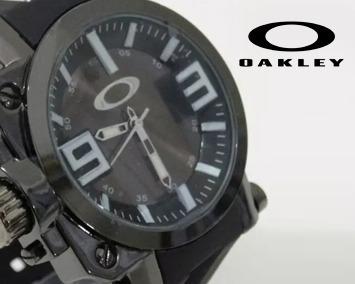Relogio Pulso Masculino Oakley Gearbox Titaniun, Anti-furto