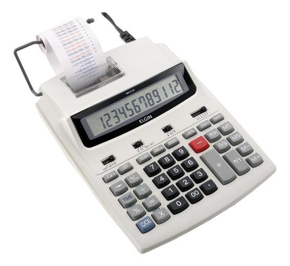 Calculadora Com Bobina De Mesa 12 Dígitos Mr-6125 Elgin