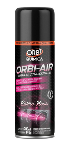 Spray Higienizador Limpa Ar Condicionado Orbi Original