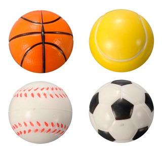 Pelotas Antiestrés Deporte X12 Fútbol Tenis Basket Souvenir