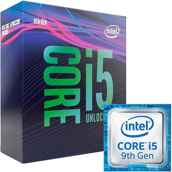 Processador Intel Core I5-9600k 3.7ghz Lga 1151 9mb.