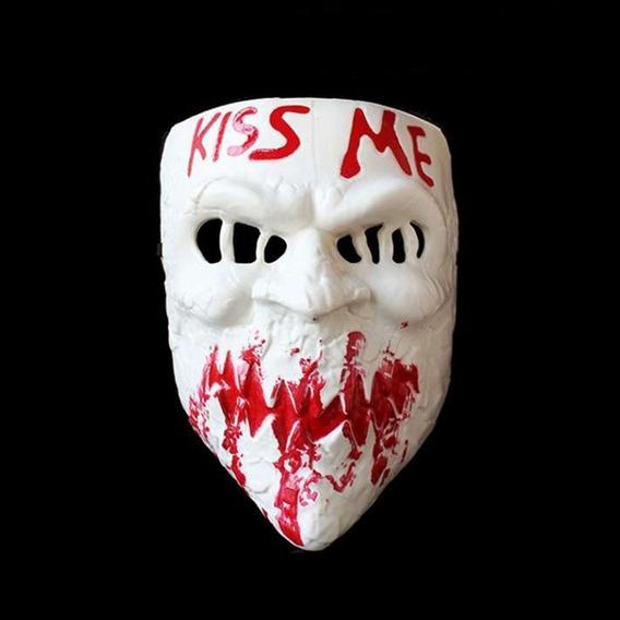 Mascara La Purga Kiss Me - Cotillón Disfraz