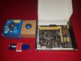 Combo Mother Asus H81 Mk+i3 -4150 +4 Gb Ddr3