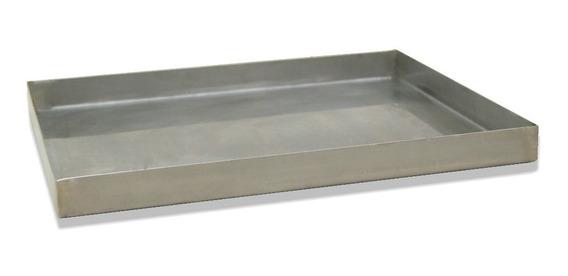 Forma Em Aço Inox Escovado P/ Assador Em Calefator Estela Ma