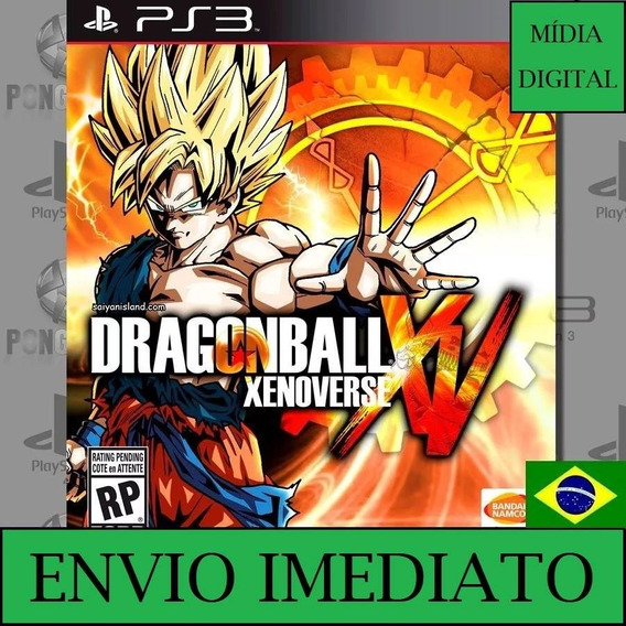 Dragon Ball Z Xenoverse Ps3 Psn Midia Digital Envio Imediato