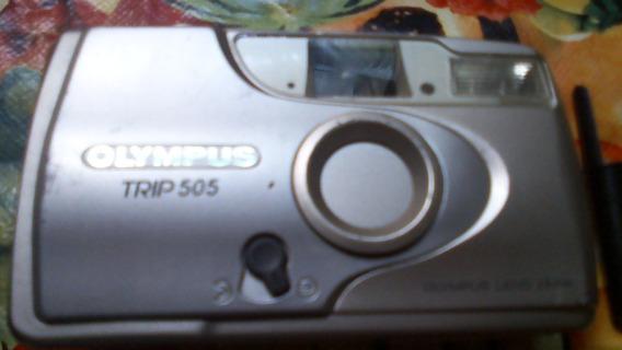 Camera Fotográfica Olympus Trip 505 - Funcionandoflash Motor