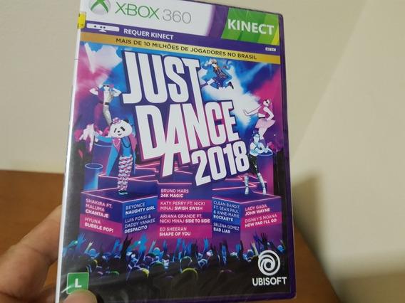 Just In Dance 2018 Lacrado Nacional Xbox 360 Midia Física