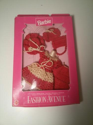 Ropa Y Accesorios De Barbie Hechos En Crochet