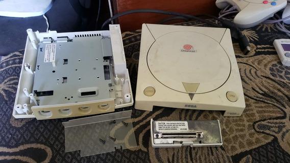 Carcaça Do Dreamcast Americano F4