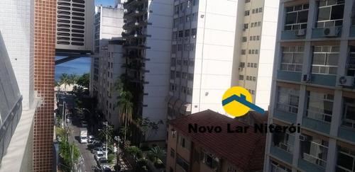 Imagem 1 de 15 de Excelente Apartamento Com Vista Parcial Mar. - 281