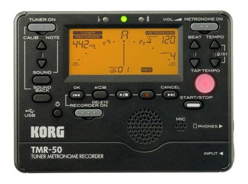 Imagen 1 de 3 de Korg Tmr50 Afinador Metronomo Grabador