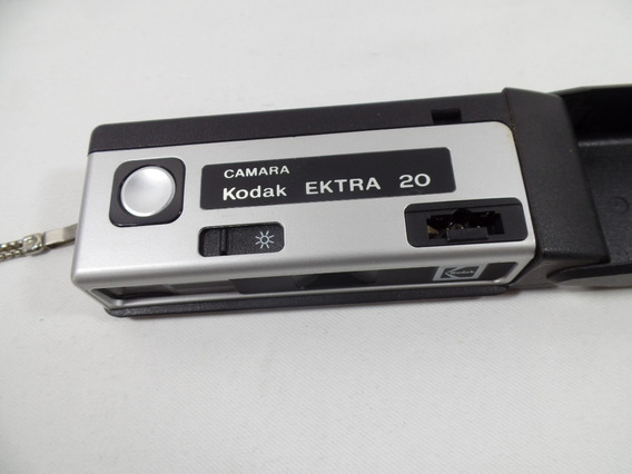 Camera Kodak - Ektra 20 - Funcionando