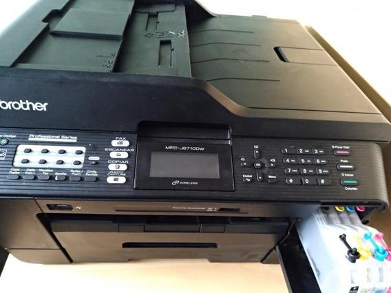 Impressora Brother Mfc J6710dw Com Bulk Cheio.