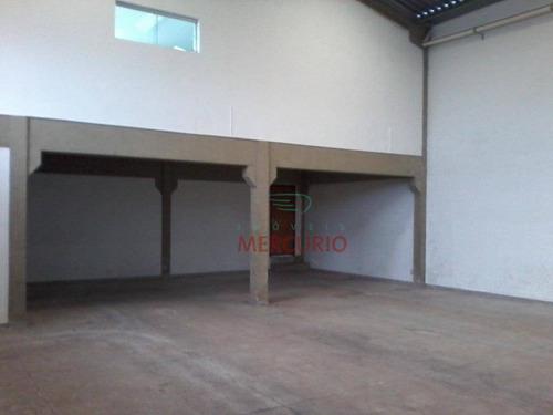 Imagem 1 de 12 de Barracão À Venda, 428 M² Por R$ 600.000,00 - Vila Nova Santa Luzia - Bauru/sp - Ba0083