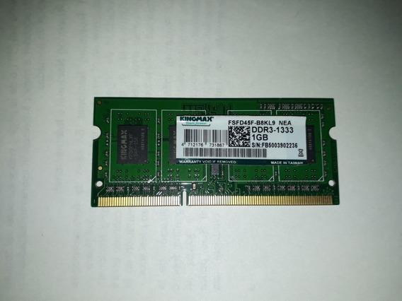Memoria Ram 1gb Ddr3-1333 Kingmax