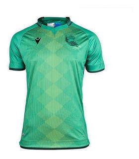 Camisa Real Sociedad 19/20 Unif. 2 - Pronta Entrega