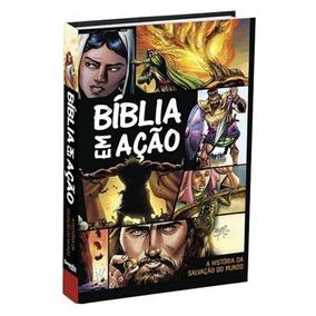 Bíblia Em Ação Quadrinhos Capa Dura Hqs