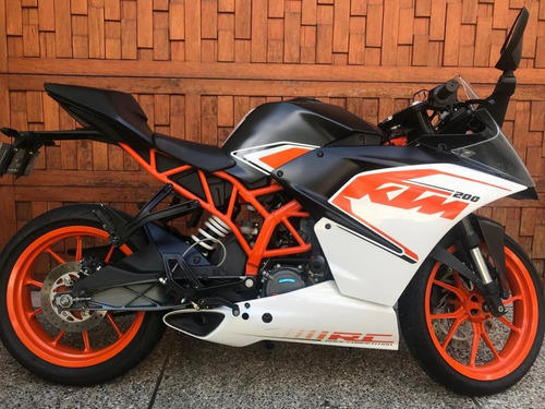 Moto Ktm Duke Rc200 Usada Barata Medellin