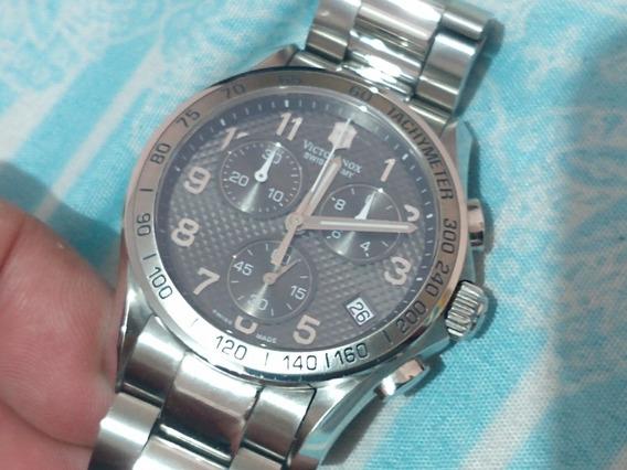 Relógio Victorinox 241405 Swiss Army Chrono Classic Pvd