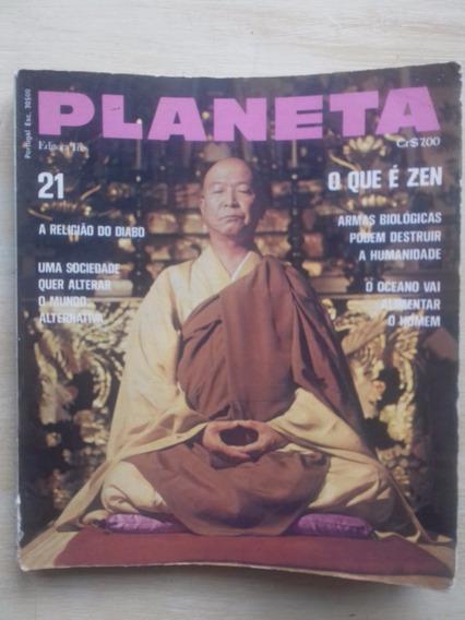 Revista Planeta 21 - Maio/1974 Soc. Alternativa Paulo Coelho