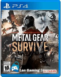 Metal Gear Survive Español Ps4 Playstation 4 - Poster Gratis