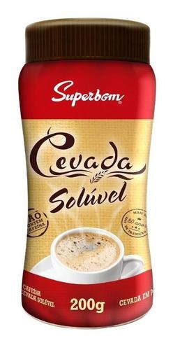 Imagem 1 de 5 de Cevada Solúvel 200g - Superbom