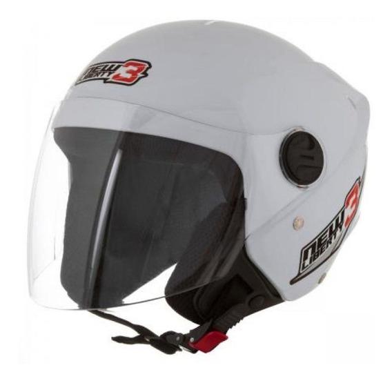 Capacete Aberto Para Moto New Liberty 3 Three 56 58 60 Cores