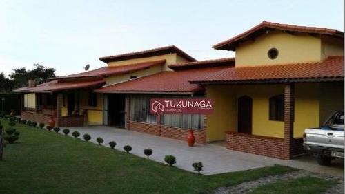 Chácara À Venda, 8000 M² Por R$ 1.300.000,00 - Ponte Alta - Guararema/sp - Ch0101