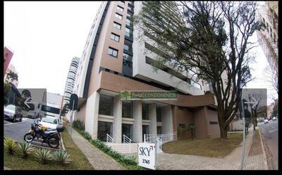 Apartamento Com 1 Dormitório À Venda, 36 M² Por R$ 250.000 - Batel - Curitiba/pr - Ap0644