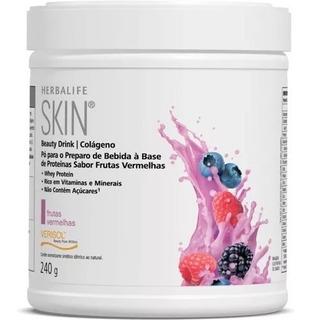 Beauty Drink Skin Colágeno Verisol Herbalife Frete Grátis